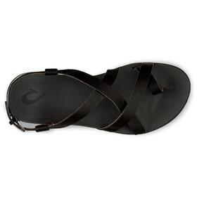 OluKai Upena Sandals Women black/black